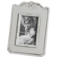 Grey Shabby Chic Photograph Frame